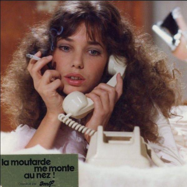 """Qui partageait l'affiche avec Jane Birkin dans le film de Claude Zidi """"La Moutarde me monte au nez"""" ?"""