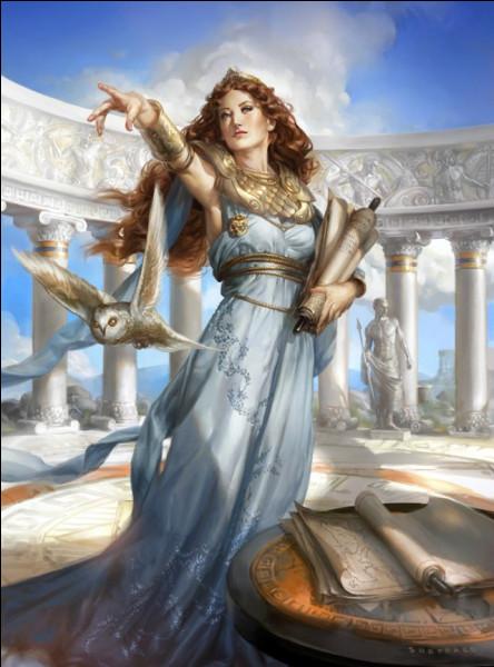 Qui est cette déesse grecque ?