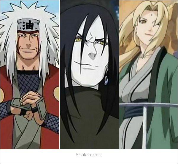 Qui était le maître des trois Ninjas Légendaires ?