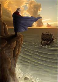 Lors de son retour après avoir vaincu le Minotaure, Thésée oublia sa promesse de hisser la voile blanche ; son père qui scrutait l'horizon croyant son fils mort se jeta dans la mer. Qui est-il ?