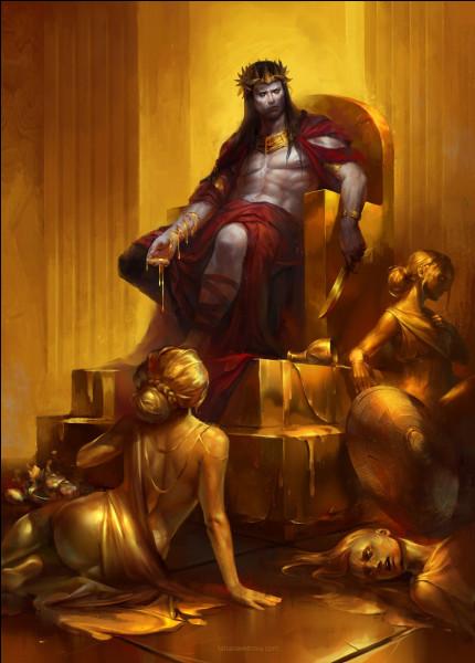 Un Dieu accorda au roi Midas que tout ce qu'il toucherait se changeât en or. Qui est-il ?