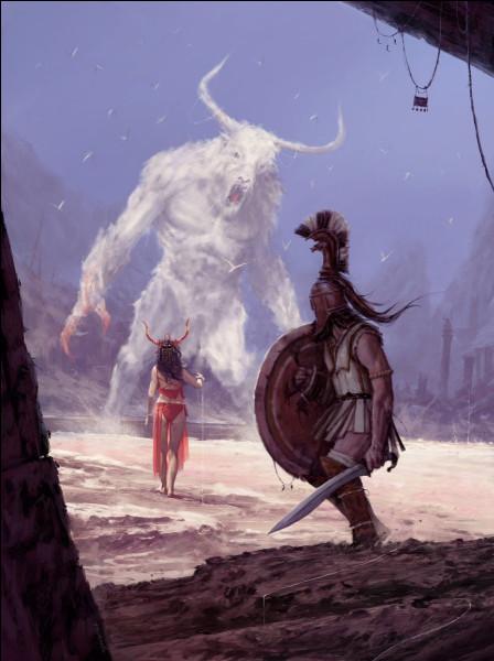 Demi-soeur du Minotaure aidant Thésée à le tuer. Qui est-elle ?