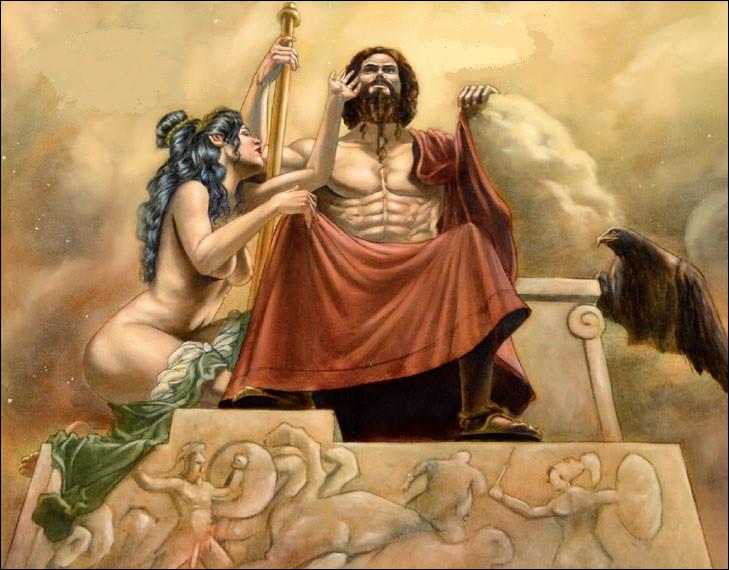 Mère d'Achille implorant Zeus en faveur de son fils. Qui est-elle ?