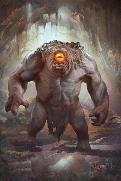Qui est le père du terrifiant Polyphème le cyclope qu'affronta Ulysse ?