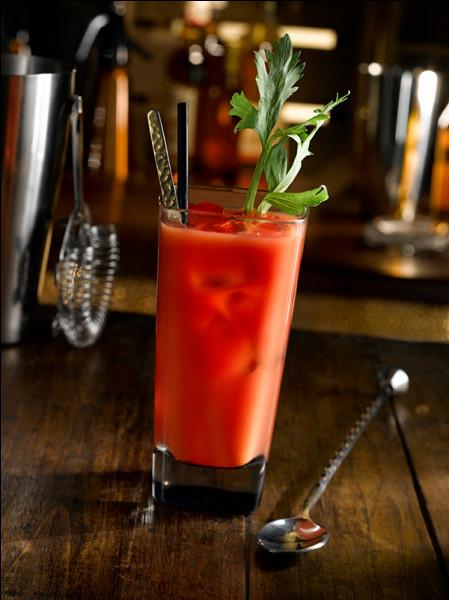 C'est le parfum de la tomate qui prédomine dans cette boisson bien connue !