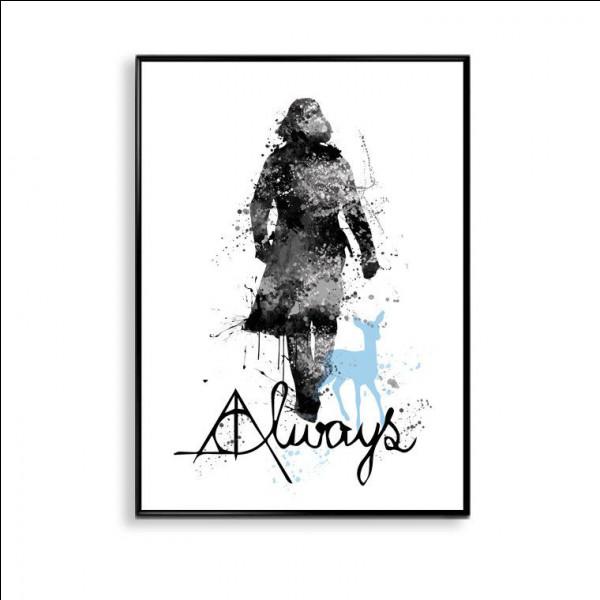 Très bien ! Et parmi ces dessins, lequel représente Severus Rogue ?