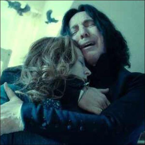 Mais, qui Rogue pleure-t-il, lui si souvent sans sentiments (amoureux) ?