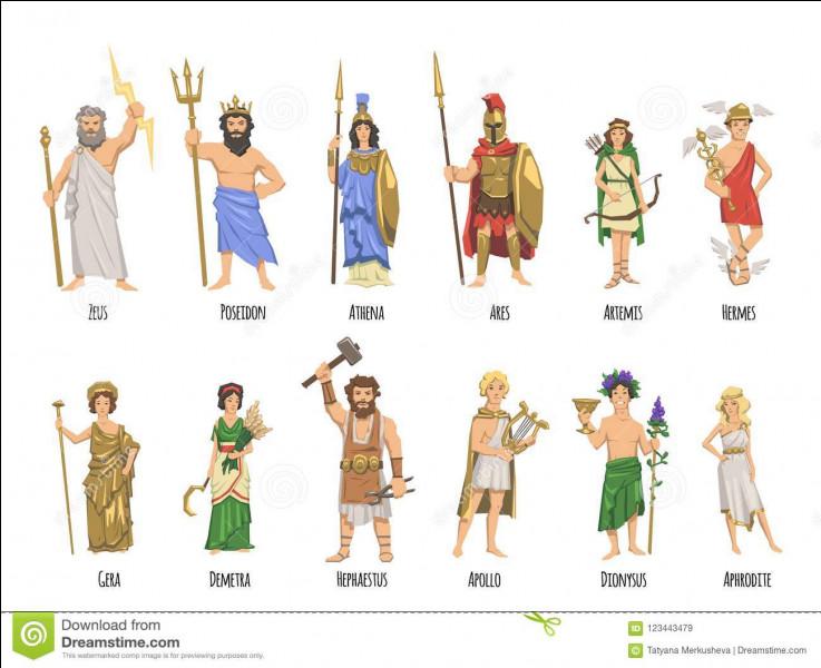 Parmi les personnages suivants, quels sont ceux qui appartiennent à la mythologie grecque ?