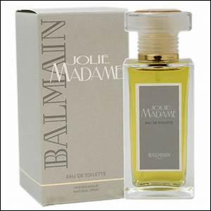 Marion Cotillard a une préférence pour Jolie Madame de Balmain ; pourriez-vous me rappeler le métier qu'elle exerce ?