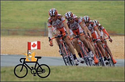 Il voulait voir les coureurs de plus près. Quelle équipe encourage-t-il ?