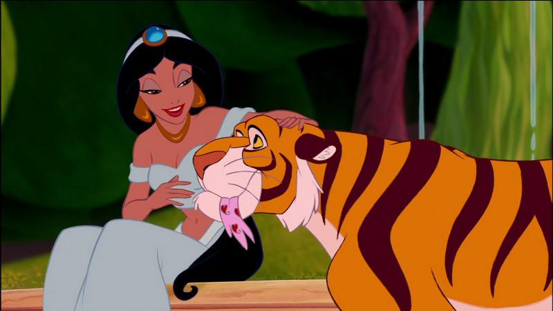 Quel est le nom du tigre de Jasmine ?
