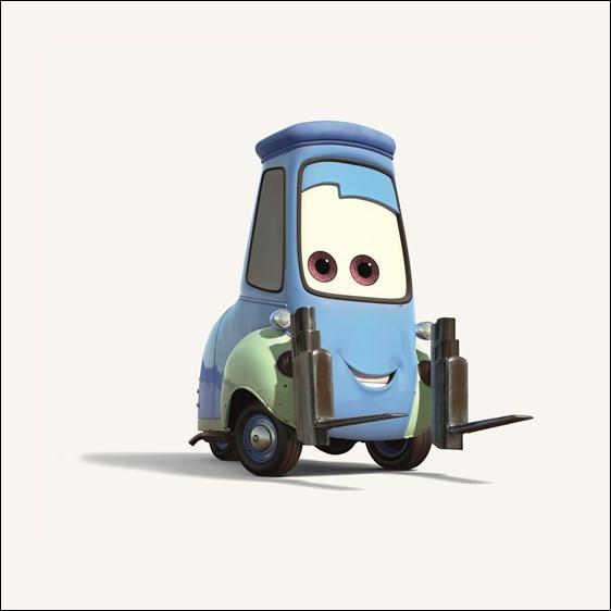 Quel est le nom de ce personnage dans 'Cars' ?