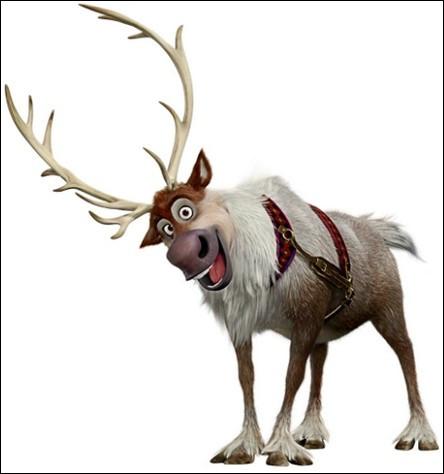 Quel est le nom de ce cerf dans 'La Reine des neiges' ?