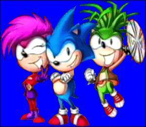 Comment s'appellent le frère et la soeur de Sonic ?