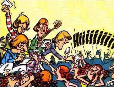 """Dans """"Astérix chez les Bretons"""" on rencontre des bardes. De quel groupe célèbre Uderzo s'est-il inspiré ?"""