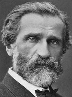 Qui est ce Giuseppe, compositeur romantique italien dont l'oeuvre est composée essentiellement d'opéras, figure emblématique de l'unification italienne, mort en 1901 ?
