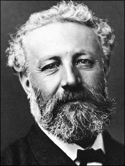 Qui est ce Jules, écrivain français, auteur de romans d'aventures qui évoquent les progrès scientifiques du XIXe siècle, mort en 1905 ?