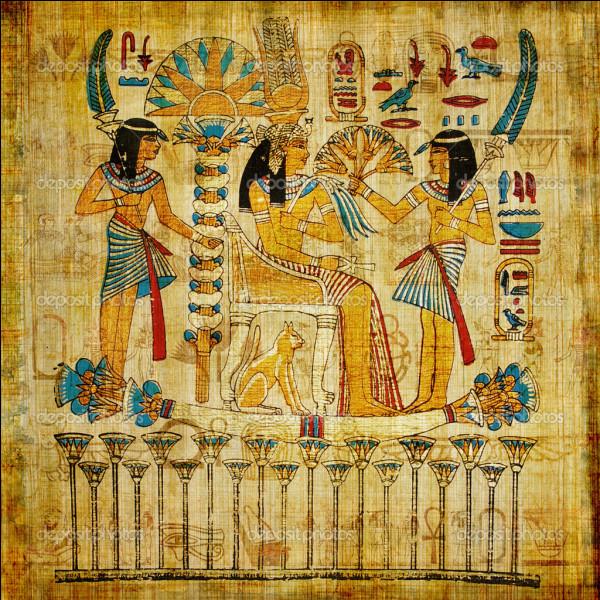 Avec quoi les Égyptiens fabriquaient-ils leur papier ?
