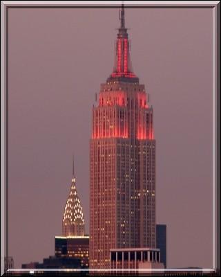 Dans quelle ville se trouve l'Empire State Building ?