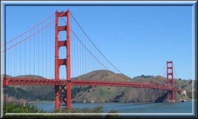 Dans quelle ville se trouve le Golden Gate ?