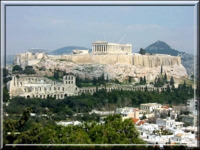 Dans quelle ville se trouve cette acropole ?