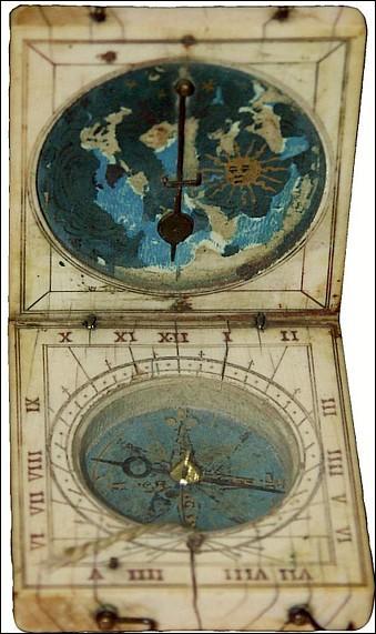 Les Romains possédaient des cadrans solaires de poche pour consulter l'heure.