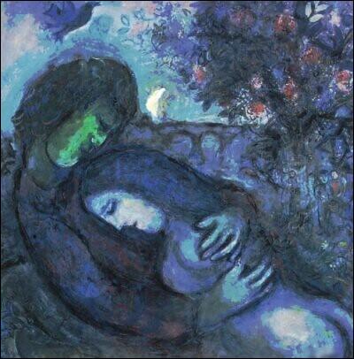 """Quel peintre du XXe a réalisé le tableau """"Le Rêve des amoureux"""" ?"""