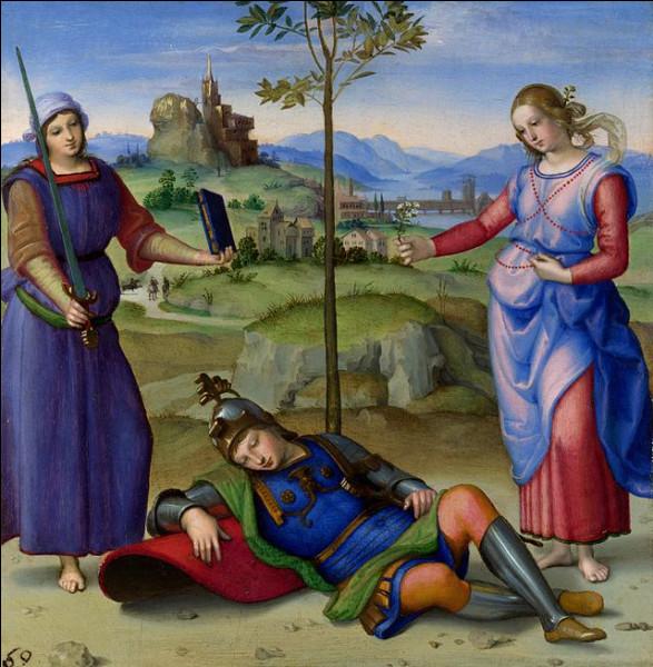 """Quel peintre italien de la Renaissance a réalisé le tableau """"Le Songe du chevalier"""" ?"""