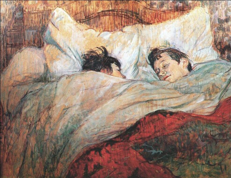 """Qui a peint le tableau célèbre """"Au lit"""" ?"""