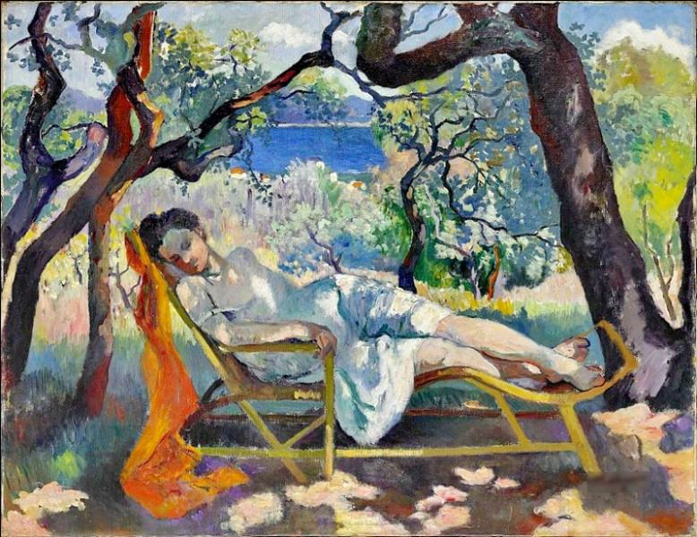 """""""La Sieste"""" est un tableau de quel peintre fauviste ?"""