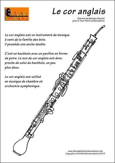 À quelle famille d'instruments appartient le cor anglais ?