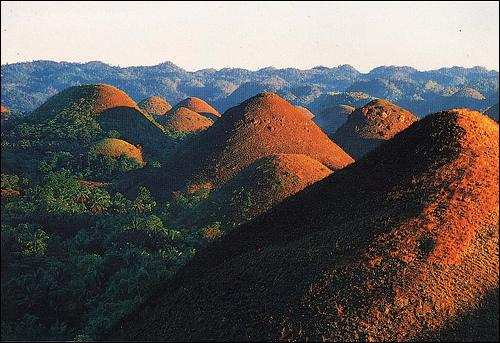 Pourquoi appelle-t-on ces collines 'Chocolate Hills' ?