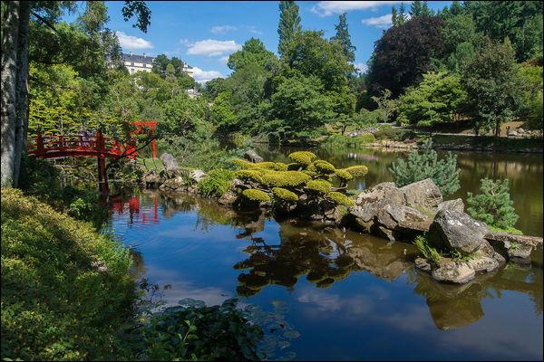 Comment se nomme le plus grand jardin japonais européen ?