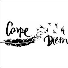 """Comment traduire """"Carpe diem"""", cet adage qui traite de la brièveté de la vie ?"""