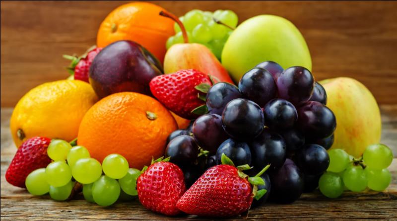 Comment dit-on des fruits en anglais ?