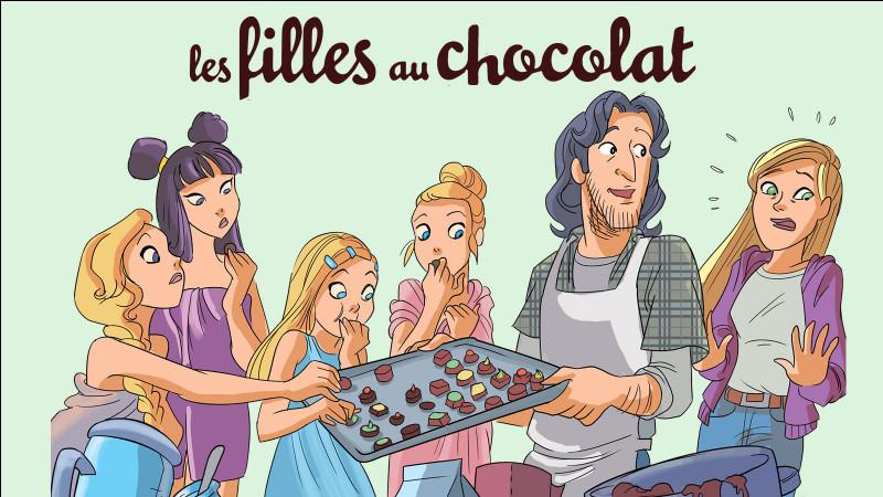 """La BD, """"Les filles au chocolat"""" contient :"""