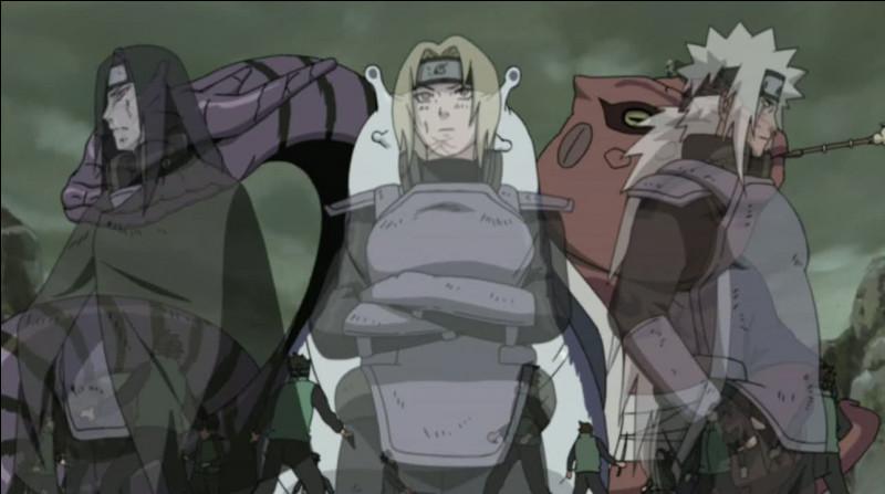 Qui les trois ninjas légendaires ont-ils entraîné ?