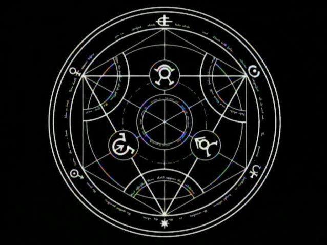 Cercle full metal alchemist