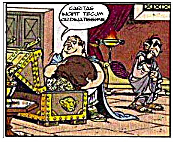 Astérix retrouve son latin (X)