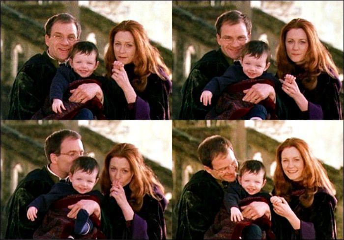 Quelle est la bonne série de Patronus de la famille Potter ?