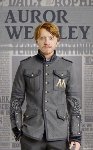 Quel est le métier de Ron ?