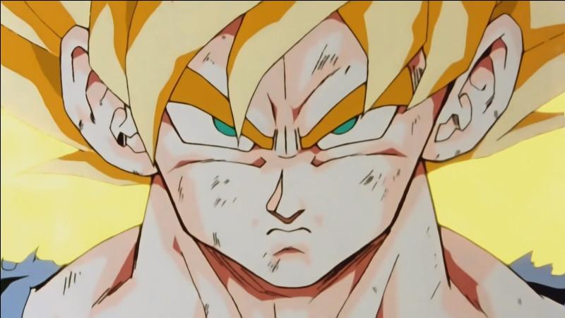 Comment Goku a réussi a se transformer pour la première fois ?