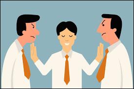 Quel statut possède un membre qui surveille les groupes et règle les conflits en gardant son sang-froid ?