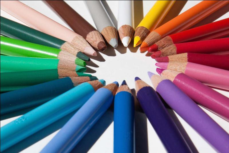 Sa couleur préférée est :
