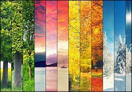 En Russie, les saisons débutent le premier de chaque mois.