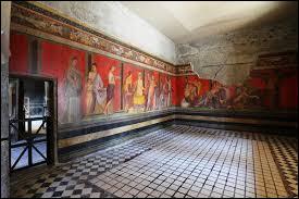 Comment s'appelle l'une des maisons qui est grandiose de par ses proportions et célèbre en raison de son superbe cycle de fresque ?