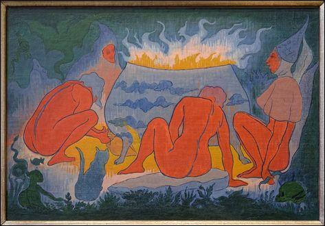 """Qui a peint """"Les Sorcières autour du feu"""" ?"""