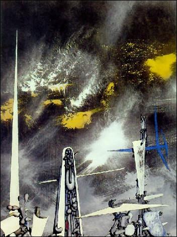 """À qui appartient le tableau intitulé """"Feu volant"""" ?"""