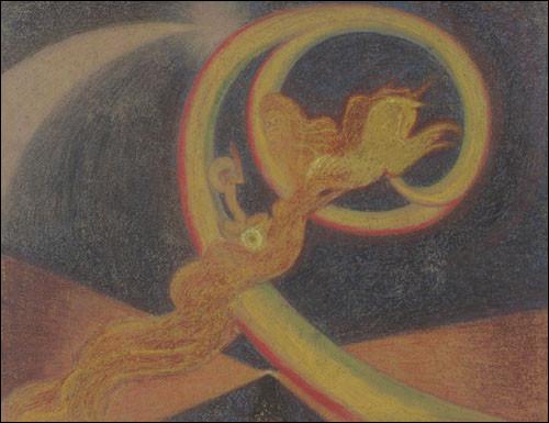 """À qui est la toile nommée """"Vision, Elie sur le char de feu"""" ?"""