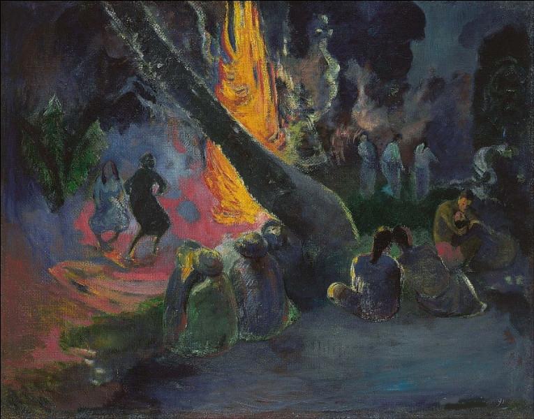 Qui a représenté la danse du feu ?